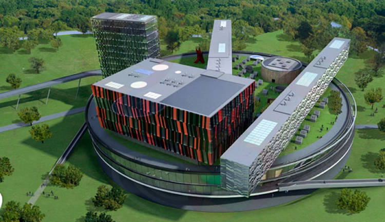 "Scheduled to break ground next year, Russian president Dmitry Medvedev's pet project is his country's second attempt to build its own Silicon Valley – the <A HREF=&quot;http://en.wikipedia.org/wiki/Akademgorodok&quot;>Soviet-era version</A> didn't work out so well. ""Technopolis Skolkovo's"" centerpiece will be the campus of the Moscow School of Management (designed by British architect David Adjaye), acknowledging the role Stanford University's research park played in the formation of the original Valley. In June, Cisco <A HREF=&quot;http://newsroom.cisco.com/dlls/2010/prod_062310d.html&quot;>pledged to invest $1 billion</A> in the project and establish Skolkovo as Russia's first smart city, focused on smart grids, transportation, education, and health care."