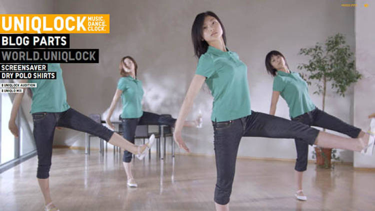 Developed by Projector in 2008, Uniqlo's Uniqlock uses images of young, Japanese women to display time. During the promotion, the widgets and the website, Uniqlock.jp, received 68 million views from 209 countries--and placed the Uniqlo brand in front of scores of influential bloggers.