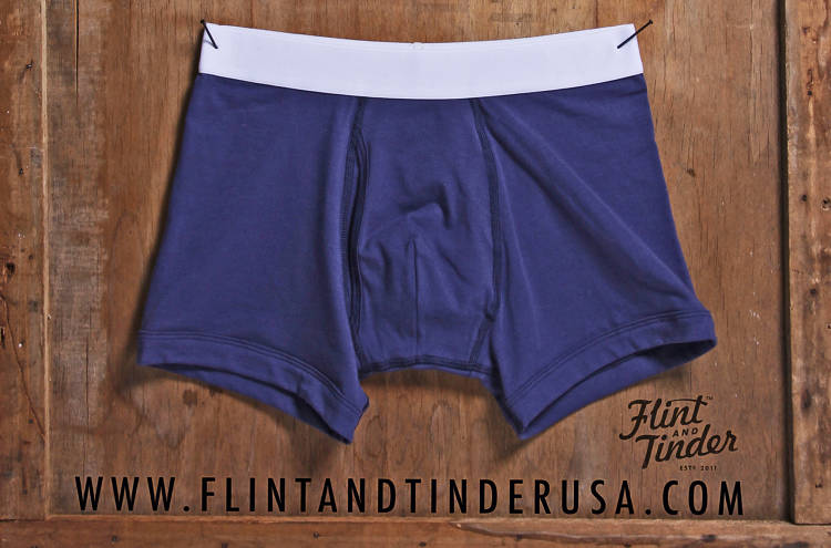 <p>Flint and Tinder undies, USA-made for all-American males.</p>