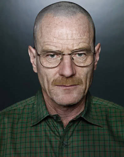 <p>as played by Bryan Cranston, and his moustache. We thought it just looked cool.</p>
