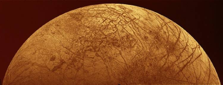 <p>The Voyager missions to Jupiter told us more than we'd ever been able to guess about the moons first discovered by Galileo, including Europa. The first photos from Voyager 1 showed the icy moon to be curiously cracked, and subsequent Voyager 2 photos added to the mystery.</p>  <p>The theory is that Europa is actually an ocean moon, covered in a layer of ice formed where the moon-wide ocean meets the vacuum of space. Some suggest it may even be the other place in our solar system that life exists.</p>  <p>To tour these moons, which orbit inside Jupiter's hostile radiation and magnetic environments, Voyager was the first spacecraft that used &quot;radiation hardened parts,&quot; which protected the delicate computers and electronics from damage. Radiation hardening has been used on spacecraft ever since.</p>