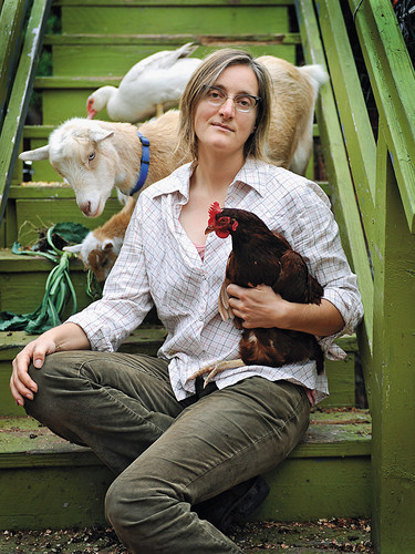 <p><a href=&quot;http://www.fastcoexist.com/1679971/a-colorful-tour-of-americas-urban-farms#1&quot; target=&quot;_self&quot;>Ghost Town Farms</a></p>  <p>In late 2009, Novella Carpenter traveled to Brooklyn to teach a workshop on butchering rabbits. Participants paid $100 each and went home with the main ingredient for a fine meal. The <em>New York Times</em> ran a long feature on the event, accompanied by recipes for rabbit ragù and rabbit loin with bitter greens. Afterward, Carpenter flew back to her hometown of Oakland, California, with the satisfaction of having trained a few more local food loyalists in the hard-core art of butchery.</p>