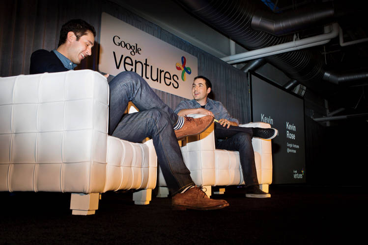 <p><strong>The Next Day, 10:52 A.M.</strong><br /> At Google Ventures' CEO summit, Rose interviews Instagram cofounder Kevin Systrom.</p>