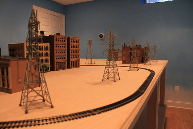 <p>CyberCity is a working mockup of a real city made from model railroad parts designed to simulate the real world, kinetic effects of cyberwarfare.</p>