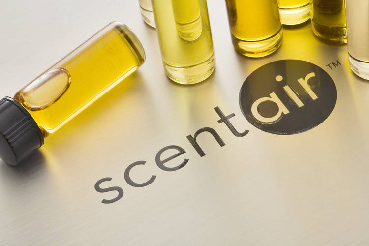 <p>Scent sample vials used to share prospective scents with clients.</p>