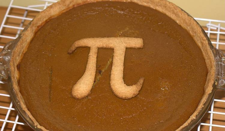 <p>If you're feeling creative, then how about making a meta pie Pi Day pie for your loved one? Make it from whatever you like (this one is pumpkin) but make sure it's perfectly round...</p>
