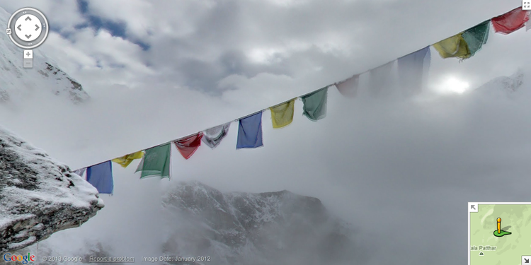 <p>This is one of the best views that a trekker can get of Mt. Everest. Kala Pattar is easily reachable, at just over 18,000 feet.</p>