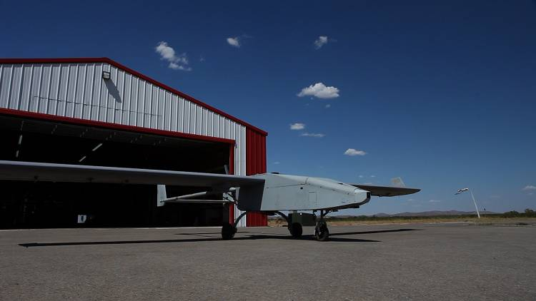 <p>Military drone at Fort Sill, Oklahoma.</p>