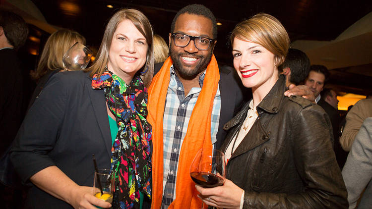 <p>Event host and <em>Fast Company</em> columnist Baratunde Thurston.</p>