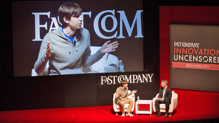 <p>Fast Company Editor in Chief Robert Safian talks to Tumblr founder David Karp. Among other things, they discussed Storyboard, a news gathering experiment that Tumblr recently shuttered. Karp called it &quot;a pretty ambitious experiment,&quot; adding, &quot;We didn't find a formula for it.&quot; <a href=&quot;https://soundcloud.com/fast-company/david-karp-in-conversation&quot; target=&quot;_blank&quot;>Listen here</a>.</p>