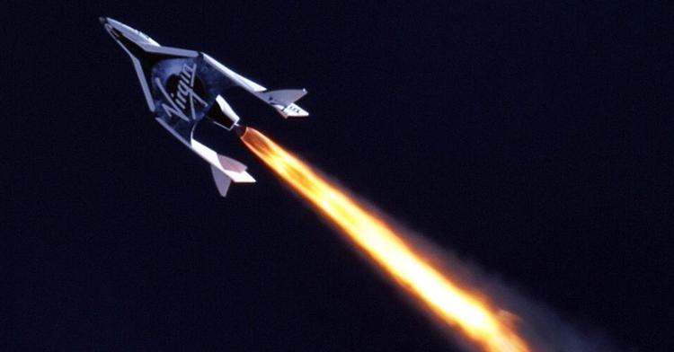 <p>SpaceShipTwo's hybrid rocket engine firing for 16 seconds, flying it higher than even Concorde flew</p>