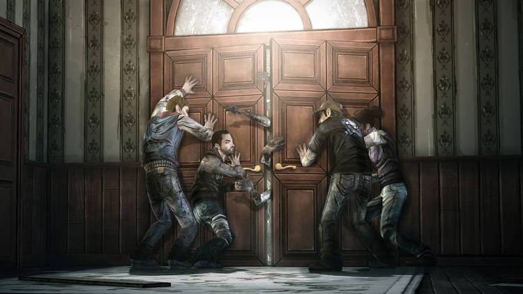 <p>The game blends an interactive, Choose Your Own Adventure–style narrative with a serialized structure: Five episodes with two to three hours of game play were released about a month and a half apart, starting in April 2012.</p>