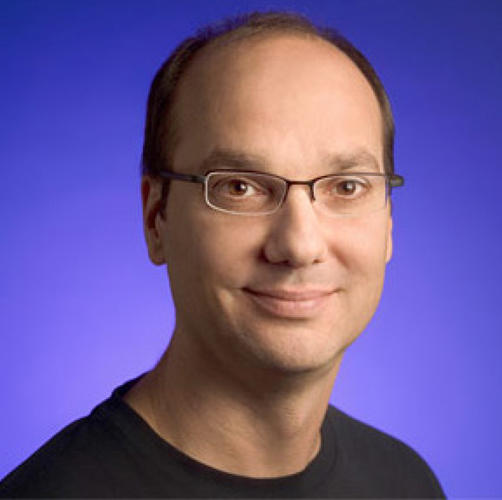 <p>Andy Rubin, head of &quot;New Projects,&quot; Formerly Android lead. In March, <a href=&quot;http://googleblog.blogspot.co.uk/2013/03/update-from-ceo.html&quot; target=&quot;_blank&quot;>Rubin stepped down and Pichai took the Android reins at Google</a>, leaving Rubin to pursue new projects and &quot;take moonshots.&quot;</p>