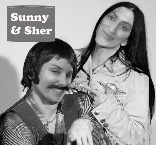 <p><strong>I Got You Babe</strong><br /> A photoshopped version of Sunny Greco and Shereen Eltogby. &quot;We call ourselves the Sunny &amp; Sher show when we work together. One of our team members created this, an example of encouraging us to be our weird selves, connection and sharing.&quot;</p>