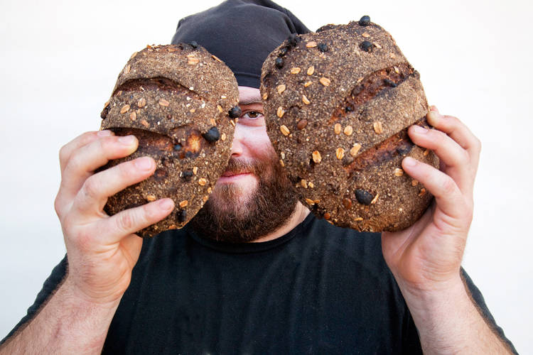 <p>Matthew Tilden runs <a href=&quot;http://scratchbread.com/&quot; target=&quot;_blank&quot;>SCRATCHbread</a>, a Bed-Stuy food stand where everything is made from, well, scratch. &quot;The neighborhood has embraced him,&quot; says Duchaine.</p>