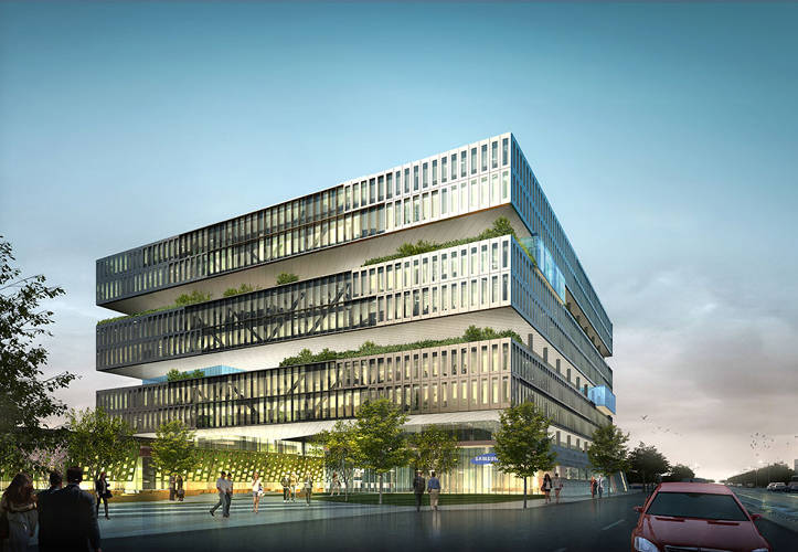 <p>The campus, located San Jose, will feature a 10-story tower, amenity pavilion, and a parking garage. It will be the company's largest campus outside of Seoul, Korea.</p>