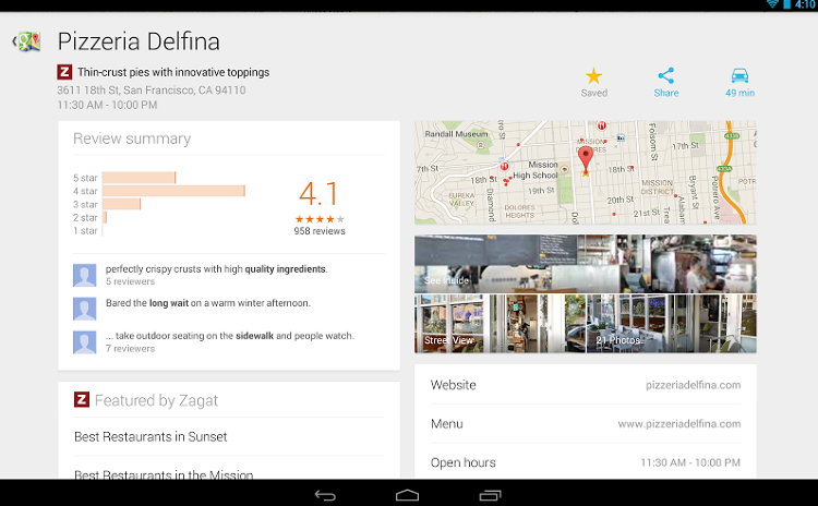 <p>Users can save their favorite locations and get tailored recommendations.</p>