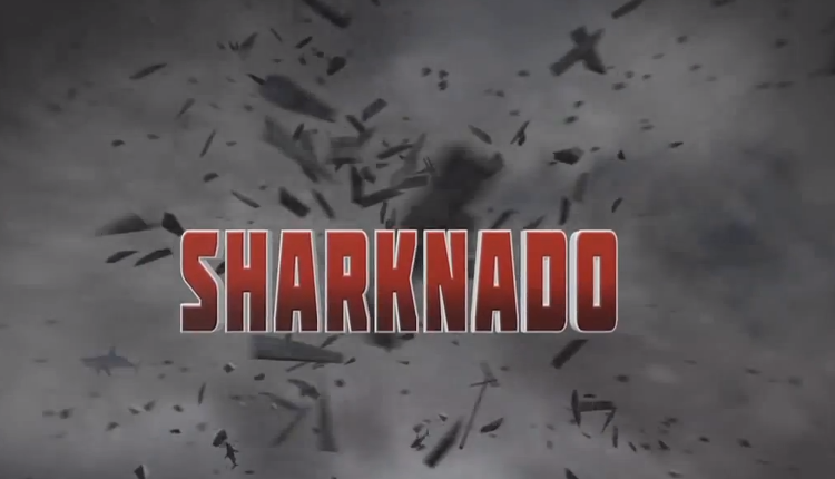 <p>According to Twitter analytics company SocialGuide, roughly one in every eight people who tweeted about TV last night were discussing one thing: <em>Sharknado</em>, the film that premiered on Syfy about a town terrorized by shark-packed tornadoes.</p>