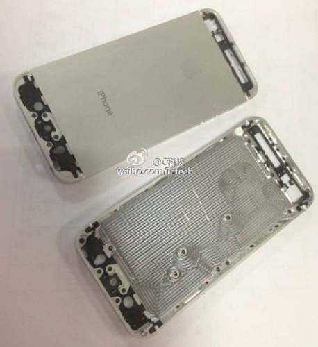 <p>Metal backplates said to come from the iPhone 5S production line.</p>
