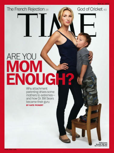 <p>You may not have been able to see a nipple, but Time's breastfeeding cover of last year garnered mostly negative responses, even amongst &quot;lactivists.&quot;</p>