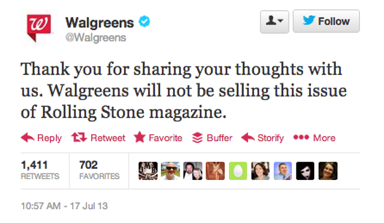 <p>Neither will Walgreens.</p>