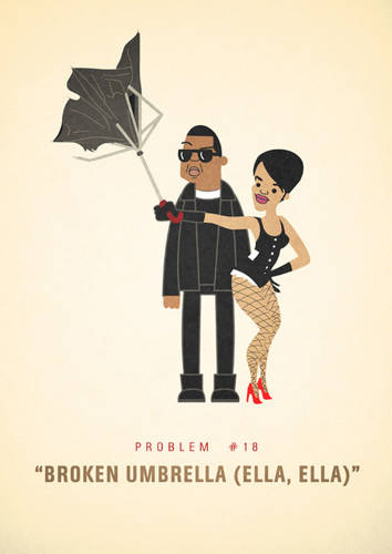 <p>Apparently we are still trying to figure out <a href=&quot;http://www.fastcocreate.com/1683399/all-of-jay-z-s-99-problems-illustrated#1&quot; target=&quot;_self&quot;>Jay-Z's problems</a>.</p>