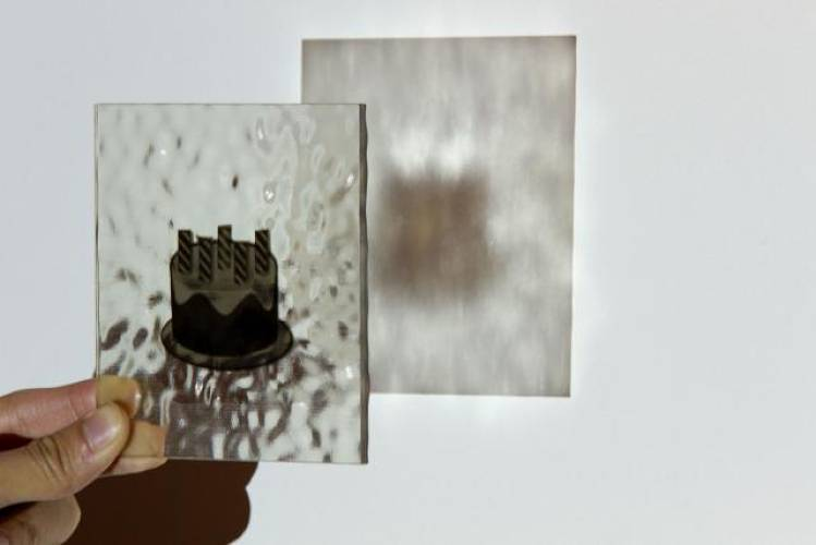 <p>A new software pipeline could radically change the way objects are replicated in personal and commercial 3-D printers. Here, a cake is printed on glass.</p>
