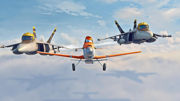 <p>Disney and Pixar flew in formation on <em>Planes</em>.</p>