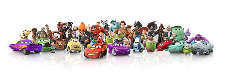 <p>At launch, there will be 17 characters available for <em>Disney Infinity</em>.</p>