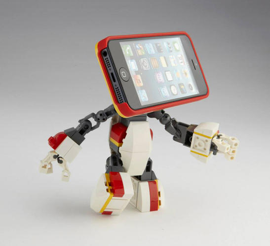 <p>Or, say, turn your iPhone into a screen-faced robot.</p>