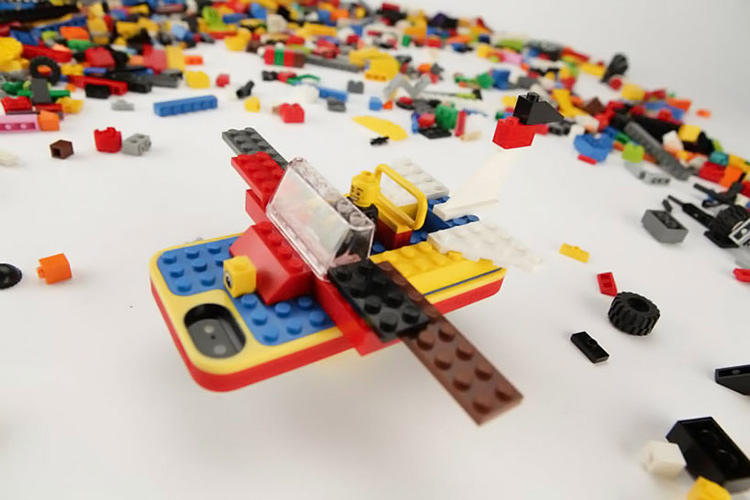 <p>Belkin's Lego builder case costs $39.99 and will fit the iPhone 5 and 5s.</p>