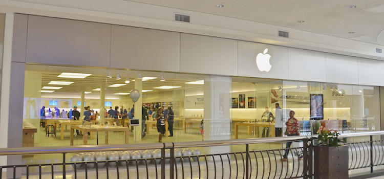 <p>After years of planning, recruitment and strategy, the first Apple Store location opened in Tyson's Corner, Virginia on May 19, 2001.</p>