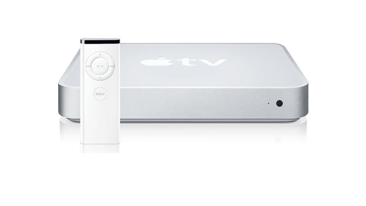 <p>Closely resembling the Mac Mini, Apple TV started shipping in early 2007. While it initially needed to be tied to a computer running iTunes, a 2008 update turned it into a standalone device similar to today's models.</p>