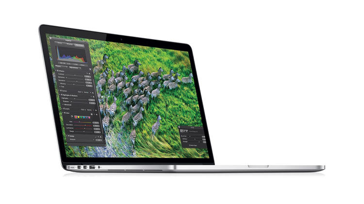 <p>Nearly as thin as the MacBook Air, the Retina MacBook Pro had one killer feature: the 2880x1800 (15&quot;) screen.</p>