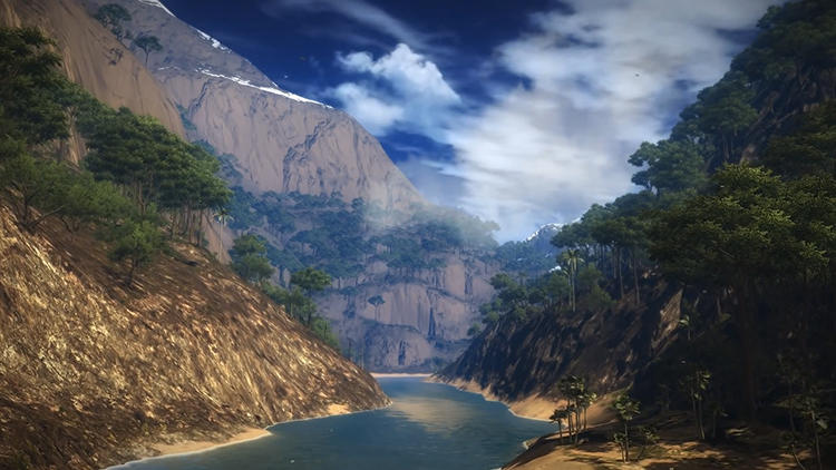 <p>The best video games feature impeccable environments that are only glimpsed in between gameplay loads or cutaway scenes.</p>  <p>Above: &quot;Panau&quot; from <em>Just Cause 2</em> (2010)</p>