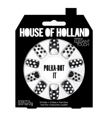 <p>Nail art has exploded of late, and Hannah Ellis-Young, Brand Marketing Manager of Elegant Touch, tells Co.Design of its merit as &quot;a safe and fun form of self expression.&quot; In the case of the new House of Holland collections, it's a way to wear a designer label at far less expense than the clothes.</p>