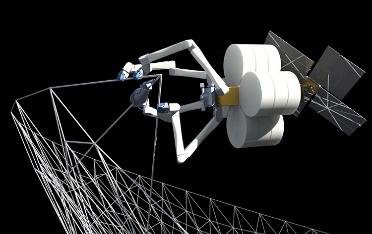 <p>TUI is currently developing SpiderFab Architecture, articulating different types of structures that can be erected in space.</p>