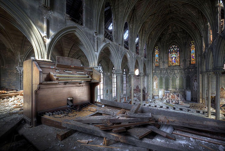 <p>There were 160 acres of decay: 40-odd buildings and a bunch of underground tunnels.</p>