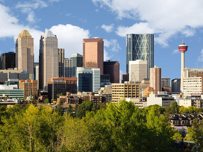 <p>More Canadian cities: Calgary.</p>