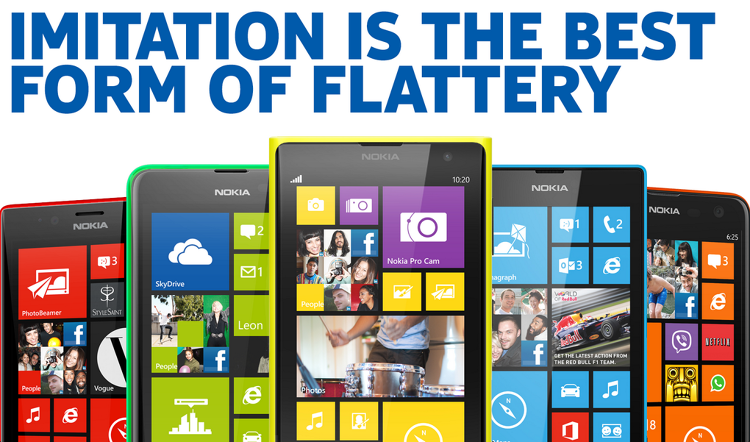 "Nokia Tries To Make Fun Of Apple's iPhone 5S: ""Real ..."