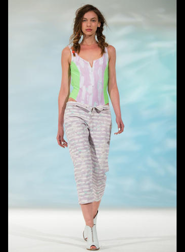 "<p>""Scenting helps promote the designer's vision for the season and collection by tapping into the most emotional and acute part of the brain, the smell memory,&quot; says Goldworm. [Image via <a href=&quot;http://www.wwd.com/runway/spring-ready-to-wear-2014/review/calla/slideshow#/slideshow/article/7126119/7128943&quot; target=&quot;_blank&quot;>WWD]</a></p>"