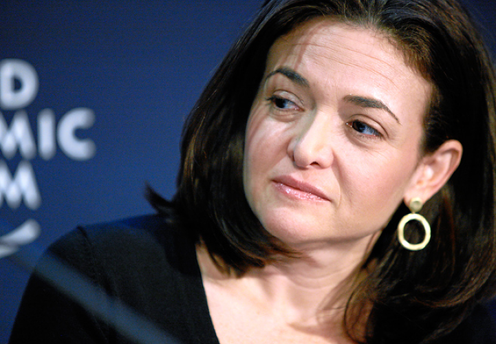 <p>Sheryl Sandberg has a 0.1% stake, at a post-IPO $85 billion company that's worth $85 million.</p>