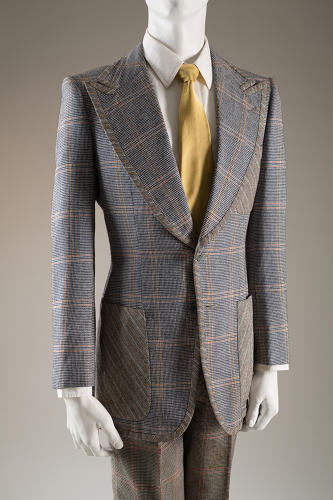 <p>Tommy Nutter, suit, 1969, England, worn by Peter Brown.</p>