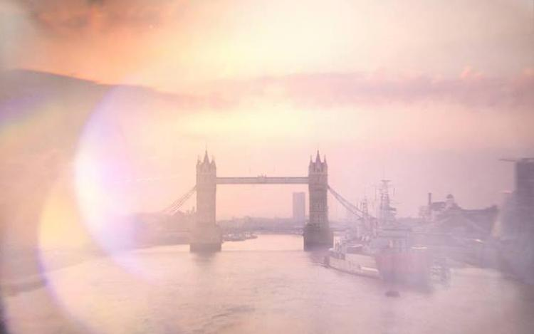 <p>A shot of London posted to Burberry's Facebook page.</p>