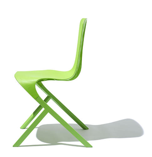 <p>The original agreement between Knoll and Adjaye was to create a single plastic chair. It quickly grew into the basis for other pieces.</p>