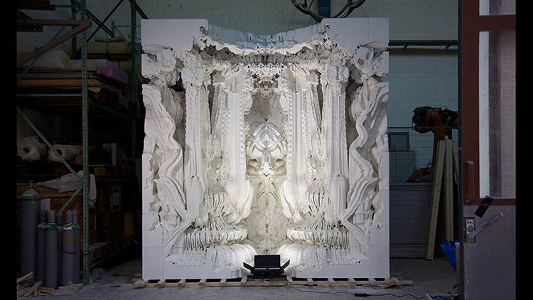 <p>Hansmeyer, with collaborator Benjamin Dillenburger, has recently completed what he thinks to be the first and only 3-D printed room in the world.</p>