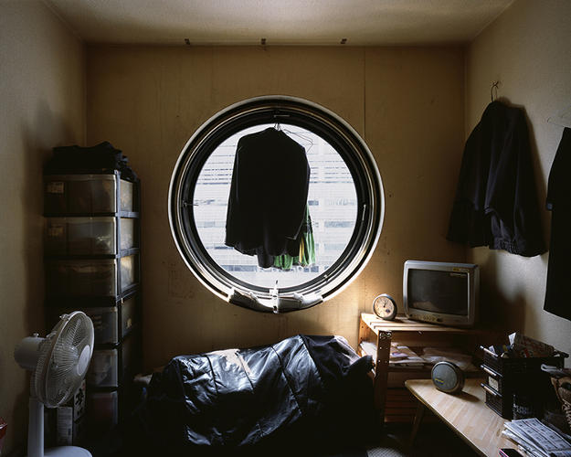 "<p>Life for capsule-dwellers has other challenges, too, as he discovered when he first visited the building in August of 2010. ""There was a historic heatwave that was going through the city, and the particular capsule that I visited, the air conditioning was broken,"" he says.</p>"