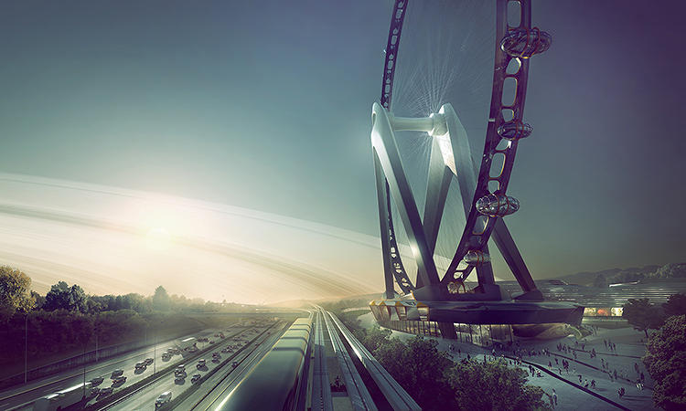 <p>How does an architect go about reinventing the, er, Ferris wheel? And is the pursuit a useful endeavor?</p>