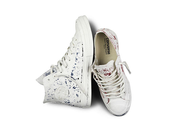<p>The Margiela + Converse collaboration is available in Converse and Margiela stores for $200 on September 20.</p>