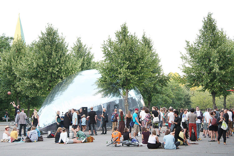 <p>Their latest project, Aeropolis, is their largest; it consists of 13 bubbles spread throughout Copenhagen.</p>
